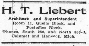 Liebert Advertisement