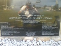 Colonel Delbert L. Waugh Memorial
