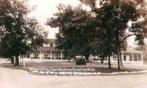 Officer's Club at Camp Grayling in 1940 (Genealogy Trails)