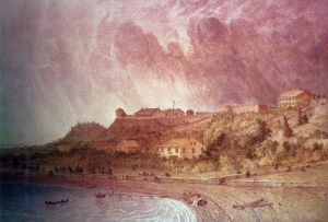 Fort Mackinac by Seth Eastman (from army.mil)