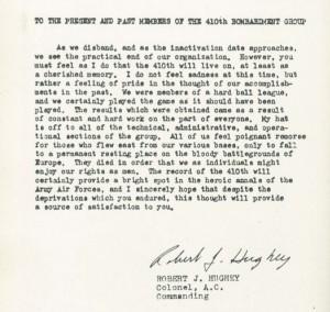 Hughey Letter