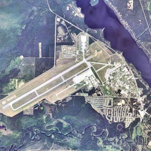 This is a overview picture of the Oscoda (Wurthsmith) Air Force Base