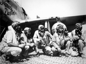 Pilots of the 332nd Fighter Group (TuskegeeAirmen)