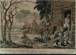 Massacre at the River Raisin