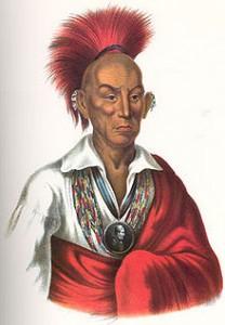 Illustration of Chief Black Hawk