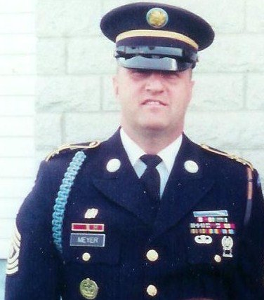 Sergeant Major Meyer (photo courtesy of the Meyer family)