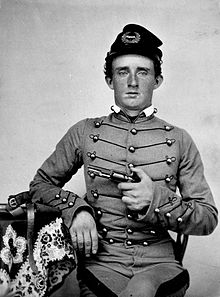 George Custer at West Point. Courtesy