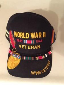 Mr. Levandoski's WWII decorations (personal image)