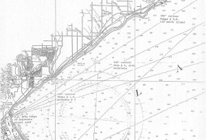 Figure 2. Munition Disposal Sites near Duluth Harbor, 1959-1962