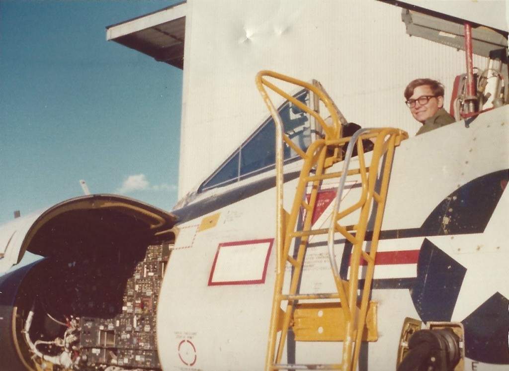 John Roznick sits in the cockpit of an F-106 (Courtesy of John Roznick)