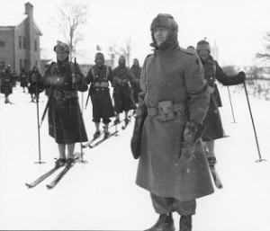 "The 131st Infantry Battalion training for ""the art of soldiering on skis"" 2"