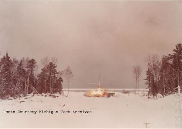 A Rocket Launch (Michigan Technological University)