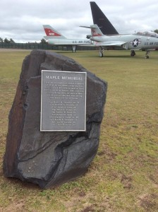 Original Crew E-180 Memorial (Courtesy of Julie Rometti-Llewellyn)