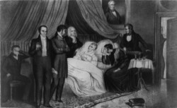 (The Death of Harrison, United States Library of Congress)