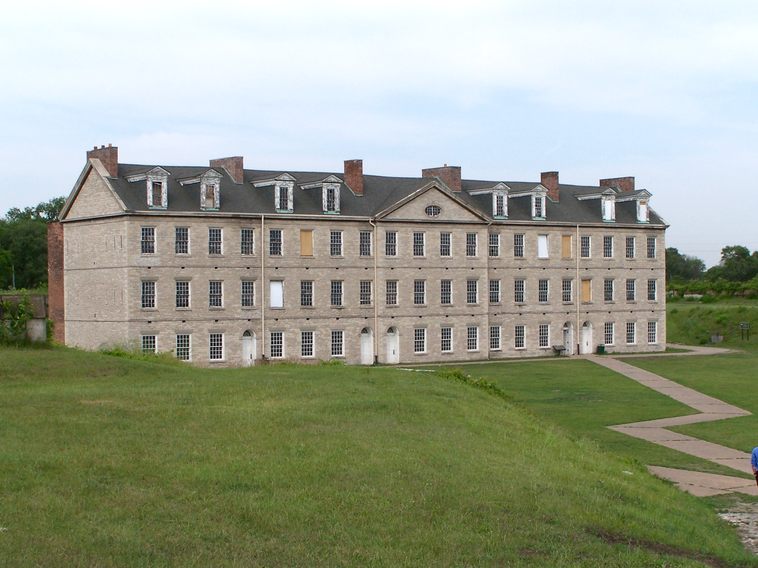 The Barracks of Fort Wayne