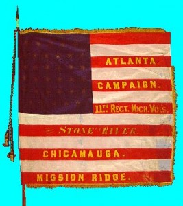 Michigan 11th Infantry Flag (from pinimg.com)
