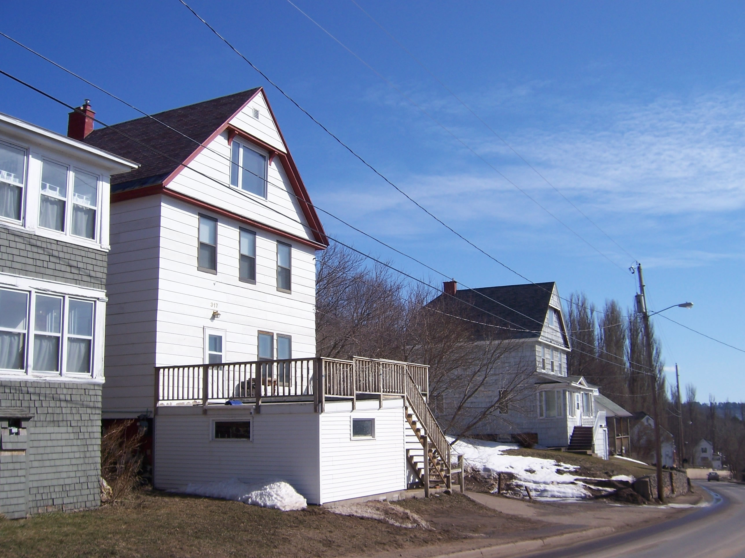 Quincy Mining Company Houses — Copper Country Architects