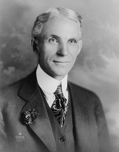 Henry Ford, the founder of Willow Run (From AmericanAutoMove.com)