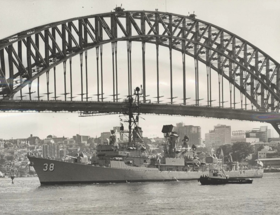 Perth Returning to Sydney in 1969