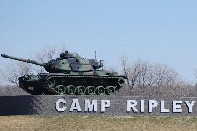 Camp Ripley Entrance (MN Historical Society)